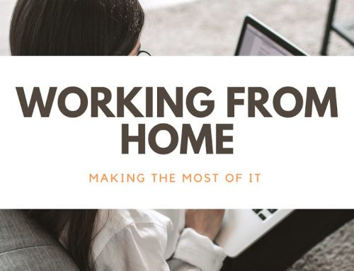 Making the Most of Working at Home