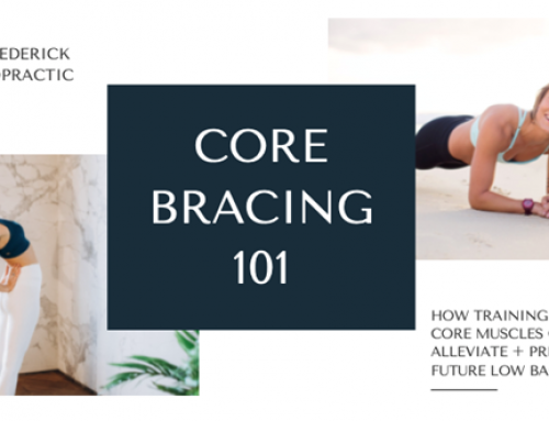 What does core bracing have to do with my low back pain?