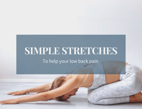 Simple Stretches for your Low Back